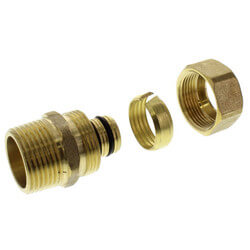 "5/8"" PEX-AL-PEX Compression x <br>3/4"" Male Adapter Product Image"