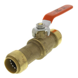 "3/4"" SharkBite Slip Ball Valve (Lead Free) Product Image"