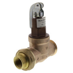 "A-89C 1/2"" Single Union Sweat Boiler Feed Valve Product Image"