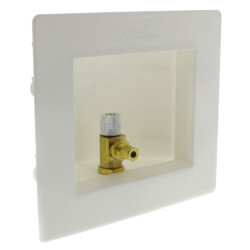 "Ice Maker Outlet Box (1/2"" Sharkbite x 1/4"" Compression) Product Image"