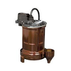 1/3 HP Man. Submersible Effluent Pump - 115V<br>10' Cord Product Image
