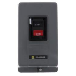 Push Button Manual Motor Starter, Enclosure NEMA Rating 1, NEMA Size:M-0 (18A) Product Image