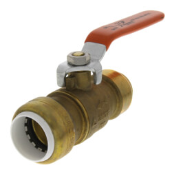 "3/4"" SharkBite x 3/4"" PVC Ball Valve (Lead Free) Product Image"