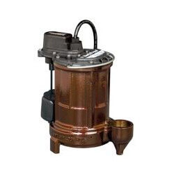 1/3 HP Auto Submersible Sump Pump, 115V<br>10' Cord Product Image