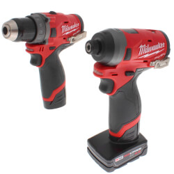 """M12 Fuel 1/2"""" Drill Driver & 1/4"""" Hex Impact Driver 2-Tool Combo Kit Product Image"""