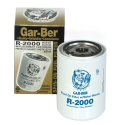 R2000 Spin-On Fuel Oil Filter Cartridge with Water Block Product Image