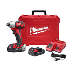 "M18 2-Speed 1/4"" Hex Impact Driver Kit w/ Compact Redlithium Batteries Product Image"