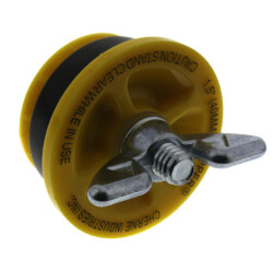 "1-1/2"" Cherne End of Pipe Gripper Plug (17 PSI) Product Image"