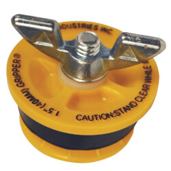"""1-1/2"""" Cherne End of Pipe Gripper Plug (17 PSI) Product Image"""