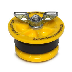 "2"" End of Pipe Gripper Plug (17 PSI) Product Image"