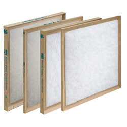 "10"" x 10"" x 1"" Fiberglass Throw Away Replacement Filter Product Image"
