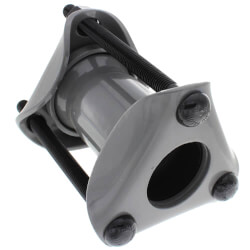 """2-1/2"""" IPS Style 38 Water Service Dresser Coupling for Steel Pipe (Plain) Product Image"""