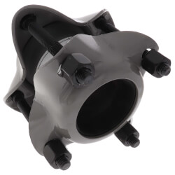 """3"""" IPS Style 38 Water Service Dresser Coupling for Steel Pipe (Plain) Product Image"""