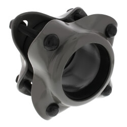 """4"""" IPS Style 38 Water Service Dresser Coupling for Steel Pipe (Plain) Product Image"""