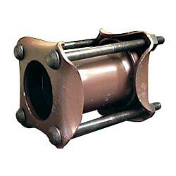 """3"""" IPS Style 38 Low Pressure Steam Dresser Coupling for Steel Pipe Product Image"""