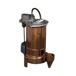 1/2 HP Automatic Submersible Sump Pump w/ Vertical Magnetic Float Switch - 208-230v, 10 ft Cord Product Image