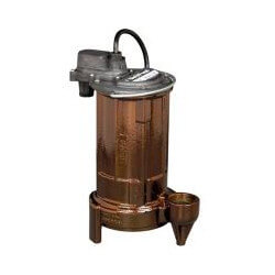 3/4 HP Man. Effluent Pump 115v, 10' Cord Product Image