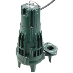 Model E294 High Head Waste-Mate Non-Automatic Cast Iron Sewage Pump - 230 V, 1.5 HP (Single Seal) Product Image