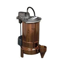 3/4 HP Model 297 Auto Effluent Pump 115v<br>(10' Cord) Product Image