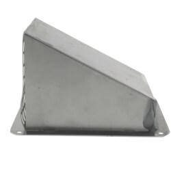 "3"" Galvanized Fresh<br>Air Intake Hood Product Image"