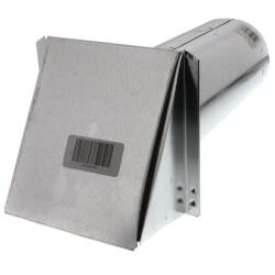 "4"" Galvanized Fresh<br>Air Intake Hood Product Image"