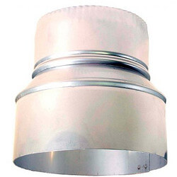 """4"""" to 6"""" Z-Vent Double Wall Increaser Product Image"""