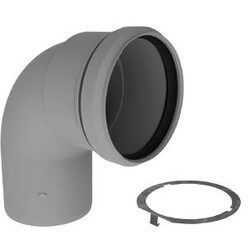 """2"""" PolyPro 90° Elbow w/ LB2 Product Image"""