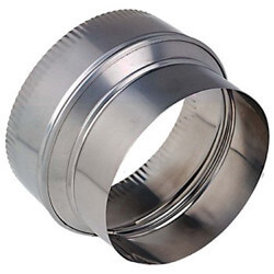 "7"" to 6"" Stainless Steel Reducer Product Image"
