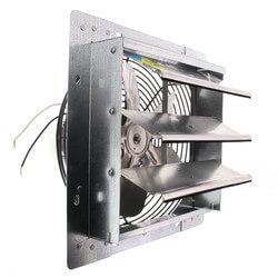 "2SHE Series 10"" Shutter Mount Exhaust Fan Product Image"