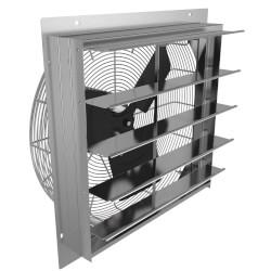 "2SHE Series 12"" Shutter Mount Exhaust Fan Product Image"