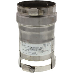 "3"" Z-Vent Buderus<br>GA 124, 244 Adapter Product Image"