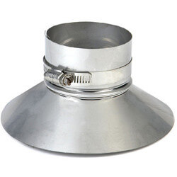 """8"""" Z-Vent Double Wall Storm Collar/Top Support (10"""" OD) Product Image"""