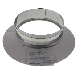 """4"""" Z-Vent Double Wall Storm Collar/Top Support (6"""" OD) Product Image"""
