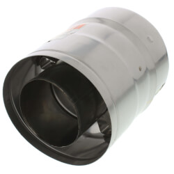 """3"""" x 6"""" Z-Vent Double<br>Wall Pipe Product Image"""