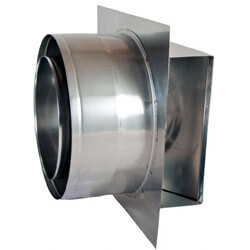 "3"" Z-Vent Double Wall Termination Box Product Image"