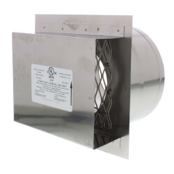 """4"""" Z-Vent Double Wall Termination Box Product Image"""