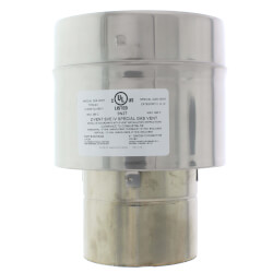 """4"""" Z-Vent Single Wall to Double Wall Adapter Product Image"""