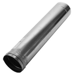 "5"" x 2 Ft. Z-Vent<br>Single Wall Pipe Product Image"