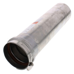 """3"""" x 1 Ft. Z-Vent<br>Single Wall Pipe Product Image"""
