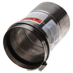 "4"" x 6"" Z-Vent<br>Single Wall Pipe Product Image"