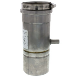 "3"" Z-Vent Vertical<br>In-Line Drain Pipe Product Image"