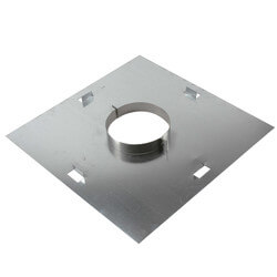 "8"" Z-Vent Fire Stop<br>with Support (OD) Product Image"