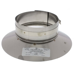 """5"""" Z-Vent Single Wall Storm Collar (OD) Product Image"""