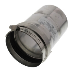 """4"""" Z-Vent Pipe with Inspection Port Product Image"""