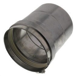 """6"""" Z-Vent Pipe with Inspection Port Product Image"""