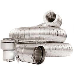 """3"""" x 9 Ft. Insul-Vent Double Wall Insulated Vent Connector Kit Product Image"""