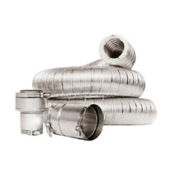 """3"""" x 12 Ft. Insul-Vent Double Wall Insulated Vent Connector Kit Product Image"""