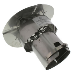"6"" Stainless Steel Z-Max Rain Cap Product Image"