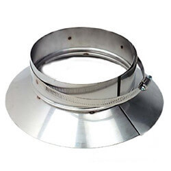 """3"""" Stainless Steel Top Support / Storm Collar Product Image"""