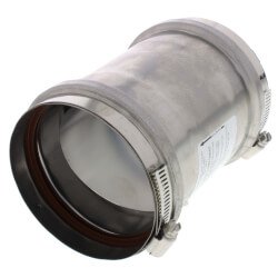 """4"""" Z-Vent Universal Appliance Adapter<br>w/ Backflow Product Image"""